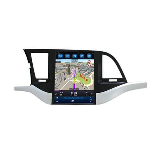 Hyundai Elantra HD Digital Car Entertainment System Tesla Screen