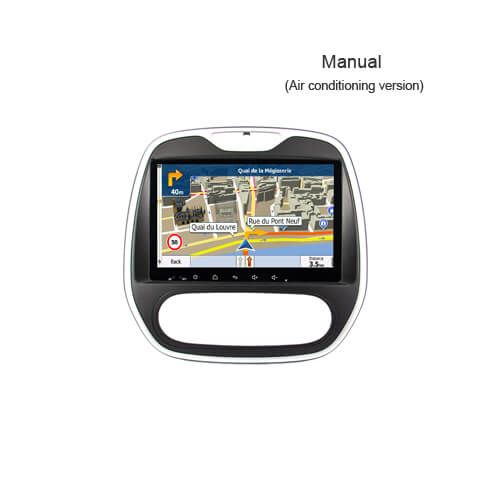 Renault Captur(Manual) In Dash Car Multimedia Receiver