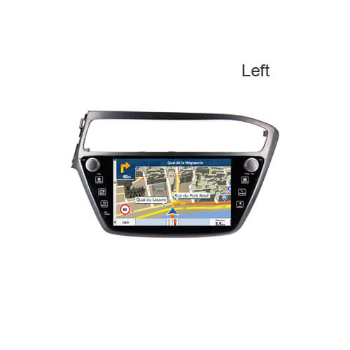 2018 Hyundai I20 Left Double Din Car Radio Head Unit