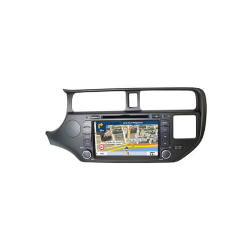 Kia K3 Integrated Navigation System With DVD Player
