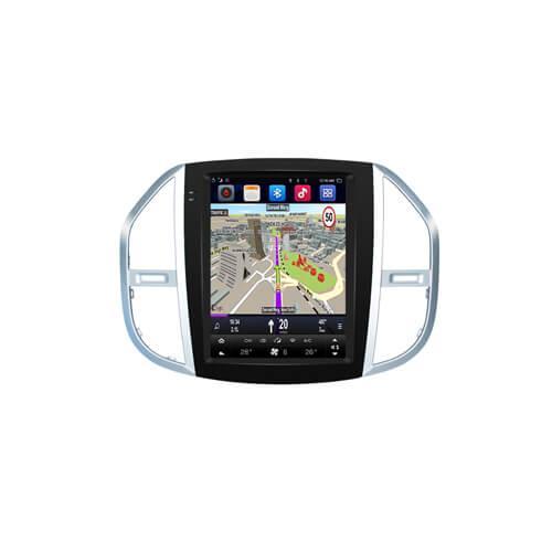Vito Mercedes Benz Automotive Infotainment System Tesla Style