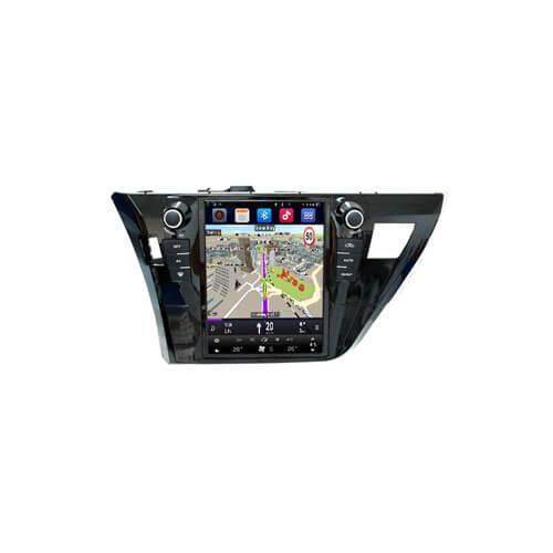 2013 Corolla Toyota Aftermarket GPS Navigation Tesla Screen