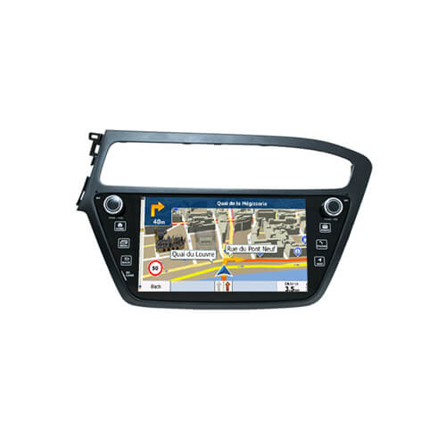 2019(Europe) Hyundai I20 Radio GPS Navigation For Car